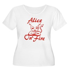 Alice On Fire T-Shirt