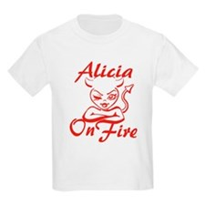 Alicia On Fire T-Shirt