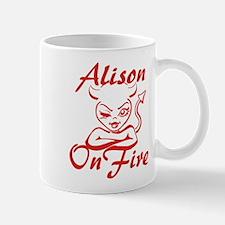 Alison On Fire Mug