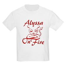 Alyssa On Fire T-Shirt
