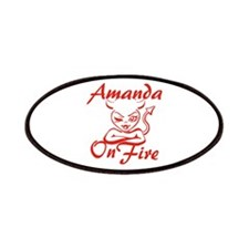 Amanda On Fire Patches