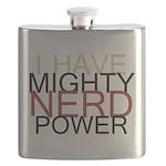 MIGHTY NERD POWER Flask