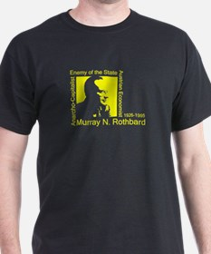 3-Rothbard Square2 T-Shirt