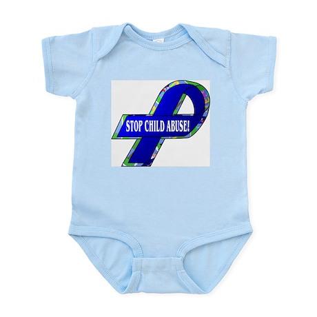 Child Abuse Awareness Infant Creeper