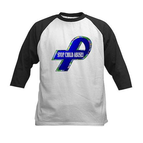 Child Abuse Awareness Kids Baseball Jersey