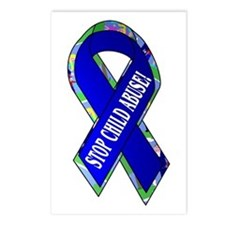 Child Abuse Awareness Postcards (Package of 8)