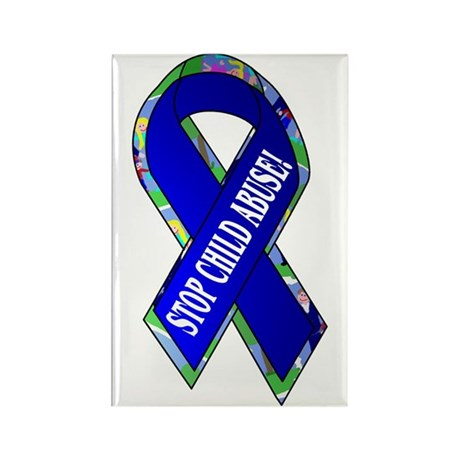 Child Abuse Awareness Rectangle Magnet (10 pack)