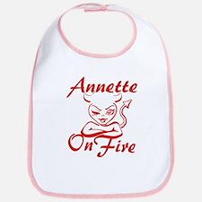 Annette On Fire Bib