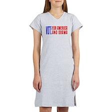 Vote For Obama Women's Nightshirt