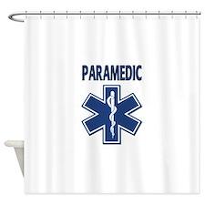 Paramedic EMS Shower Curtain