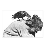 Pet Crow - Postcards (Package of 8)