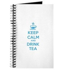 Keep calm and drink tea Journal