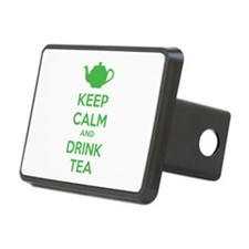 Keep calm and drink tea Hitch Cover