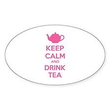 Keep calm and drink tea Decal