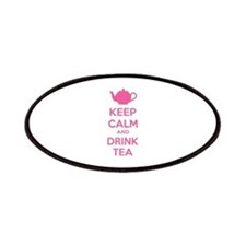 Keep calm and drink tea Patches