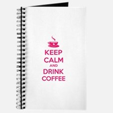 Keep calm and drink coffee Journal