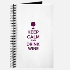 Keep calm and drink wine Journal