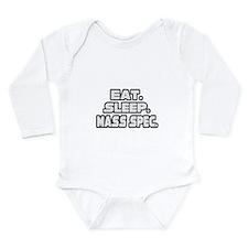 eat sleep mass spec Body Suit
