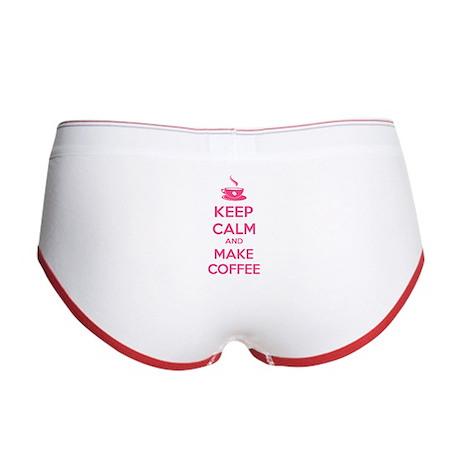 Keep calm and make coffee Women's Boy Brief