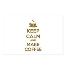 Keep calm and make coffee Postcards (Package of 8)