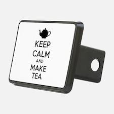 Keep calm and make tea Hitch Cover