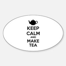 Keep calm and make tea Decal
