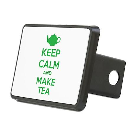 Keep calm and make tea Rectangular Hitch Cover