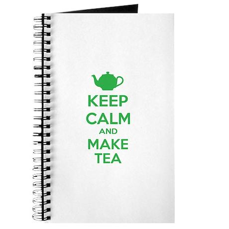 Keep calm and make tea Journal