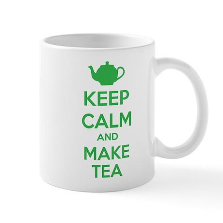 Keep calm and make tea Mug