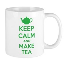Keep calm and make tea Mug