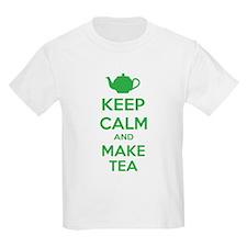 Keep calm and make tea T-Shirt