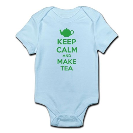 Keep calm and make tea Infant Bodysuit