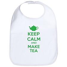 Keep calm and make tea Bib