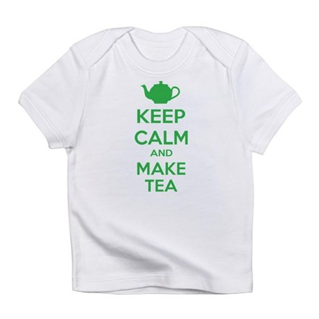 Keep calm and make tea Infant T-Shirt