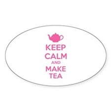 Keep calm and make tea Decal