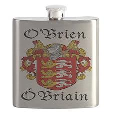O'Brien in Irish/English Flask