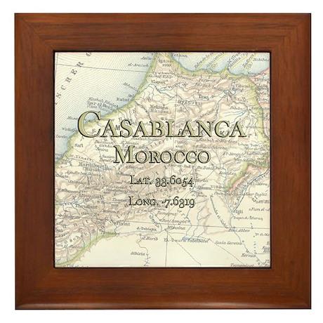 Casablanca Framed Tile