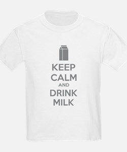 Keep calm and drink milk T-Shirt