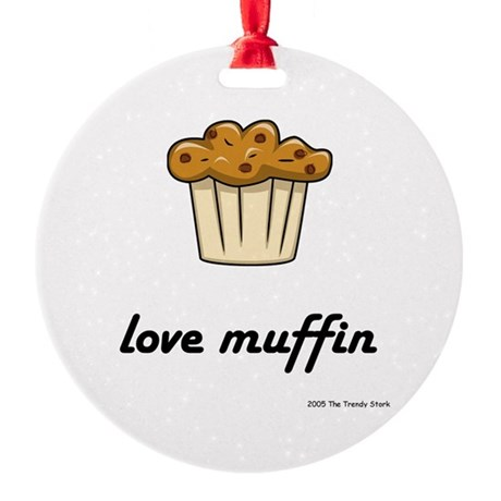 Love Muffin Keepsake (Round)