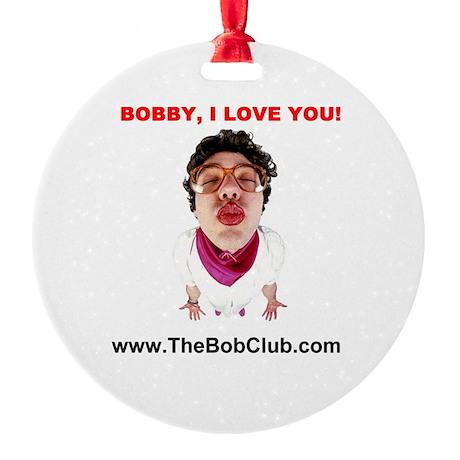 """I Love You"" Ornament (Round)"