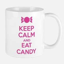 Keep calm and eat candy Mug