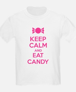 Keep calm and eat candy T-Shirt