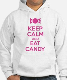 Keep calm and eat candy Hoodie
