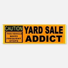 YARD SALES Bumper Bumper Sticker