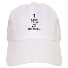 Keep calm and eat ice cream Cap