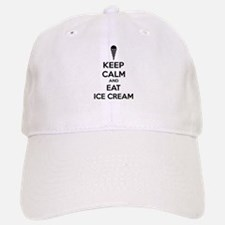 Keep calm and eat ice cream Cap