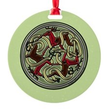Celtic Deer Knotwork Ornament