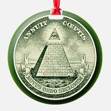 The Great Seal - Pyramid Eye Keepsake (Round)