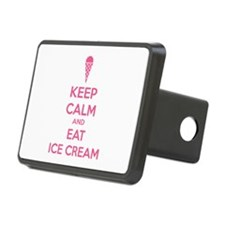 Keep calm and eat ice cream Hitch Cover