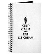 Keep calm and eat ice cream Journal